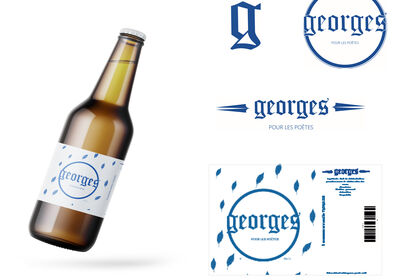 Design global - bière Georges
