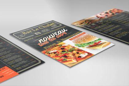 Flyer pour restaurant