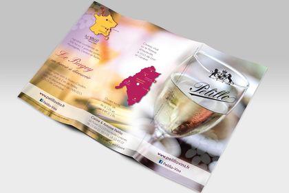 Dépliant pour viticulteur