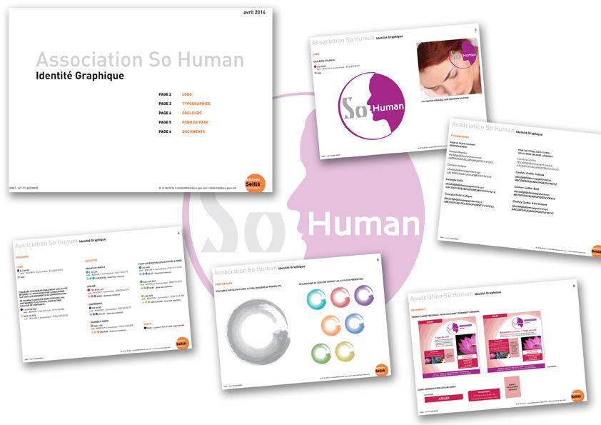 Association So Human : Charte graphique et Logo