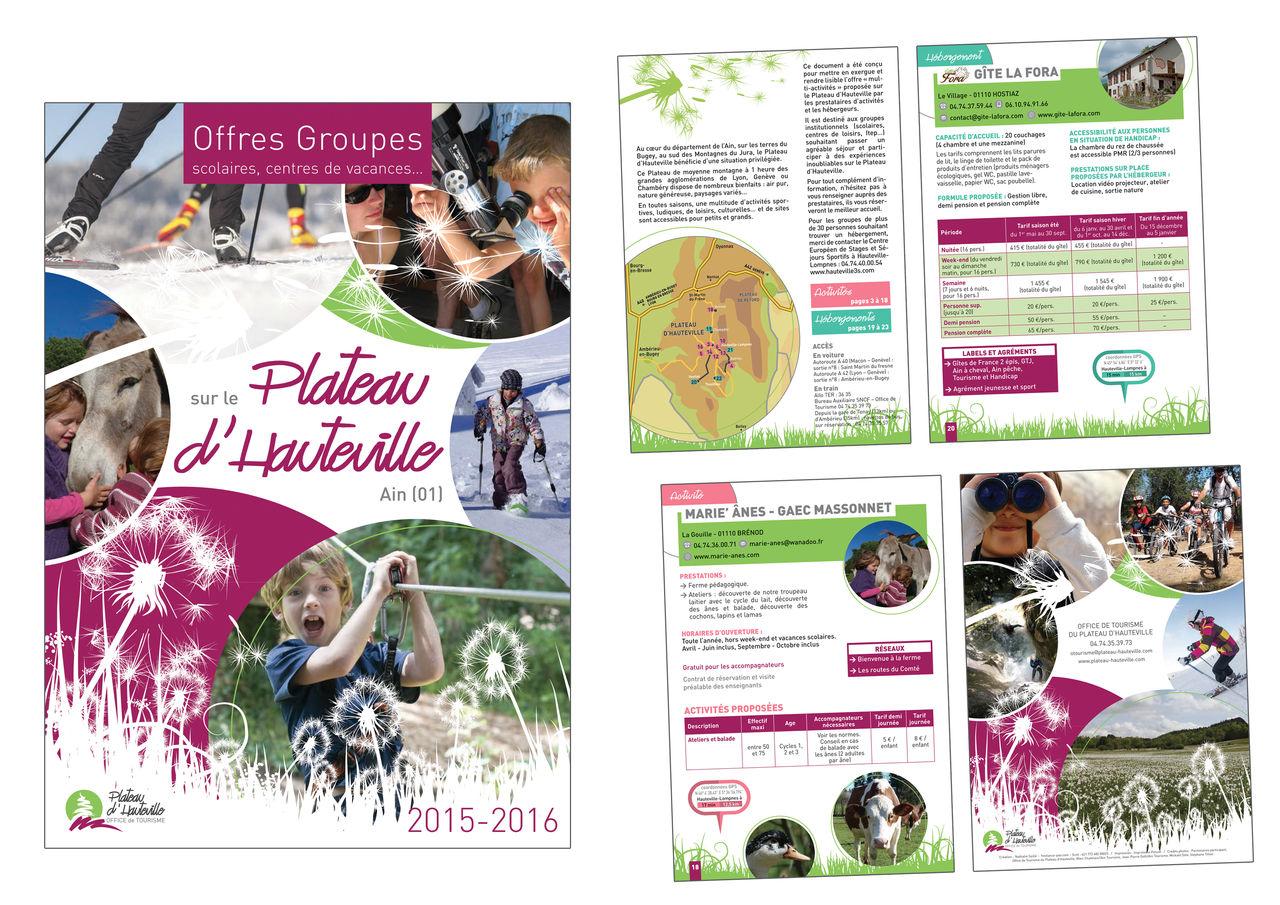 Brochure pour Office de Tourisme