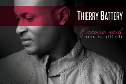 Cover CD chanteur Thierry Battery