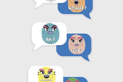 ILLUSTRATION - Emoji