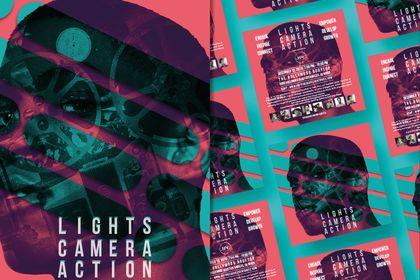 Réalisation de flyers pour événement à Los Angeles