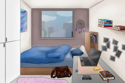 Écran de fond pour un jeux video
