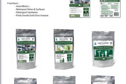 Réalisation d'une gamme de 15 packagings