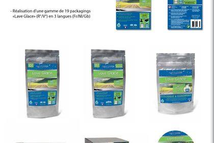 Réalisation d'une gamme de 19 packagings