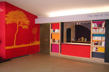 Hall salle vasse, fresque mise en couleur #209598
