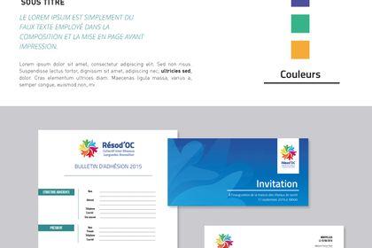 Logo + Charte graphique Résod'OC