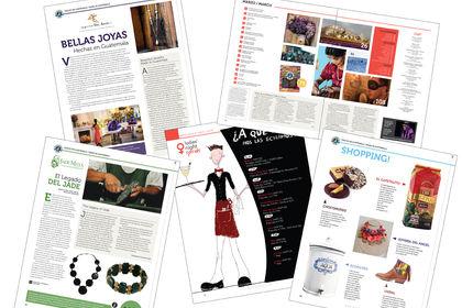Edition Print Mise en page Magazine