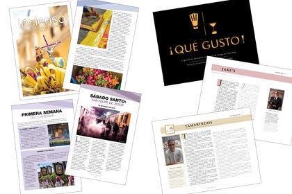 Identité visuelle Magazine Mise en page Print