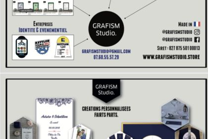 Présentation de l'activité GrafismStudio