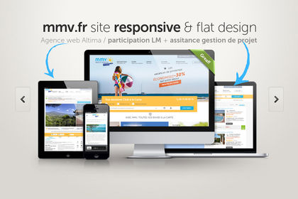 Responsive Design - Flat Design