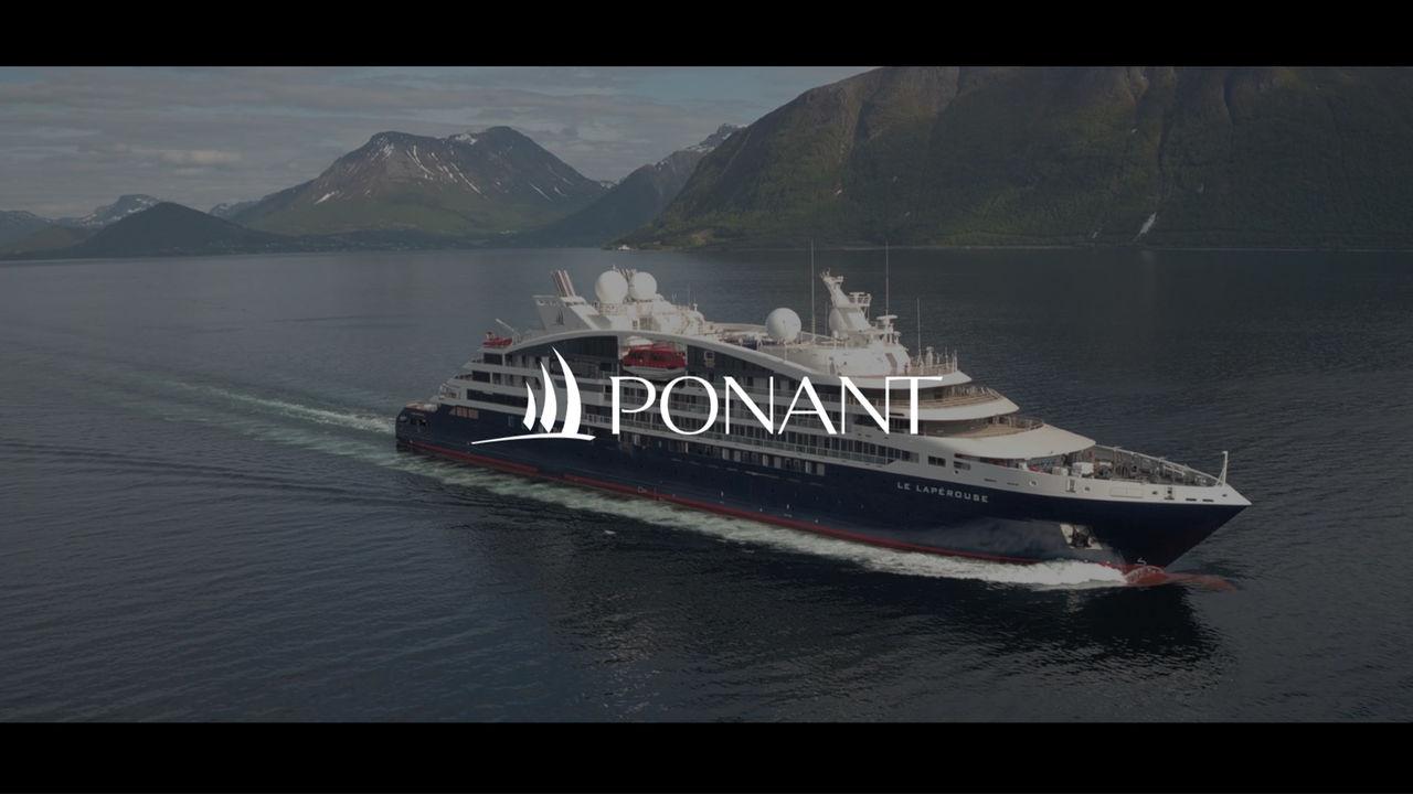 Vidéo de prospection pour Ponant