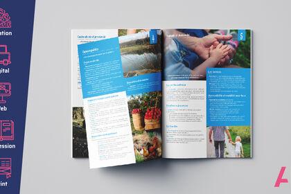 Mise en page brochure