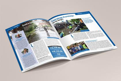Magazine mensuel Mairie de Conflans