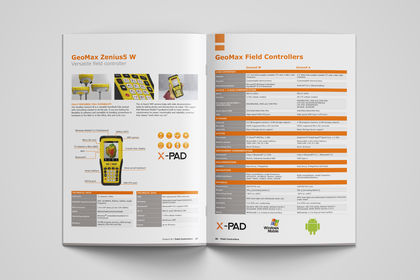 Catalogue produits GeoMax