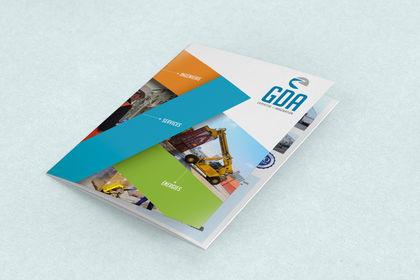 Plaquette commerciale GDA Service