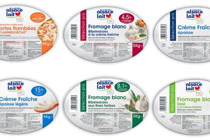 Etiquettes Alsace Lait