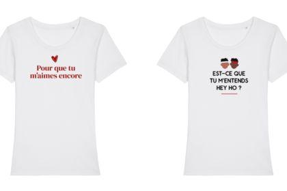 Design tshirt - Années 1990/2000