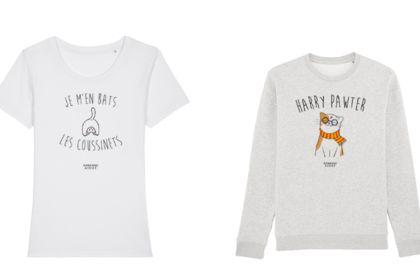 Design tshirt - Thème chat