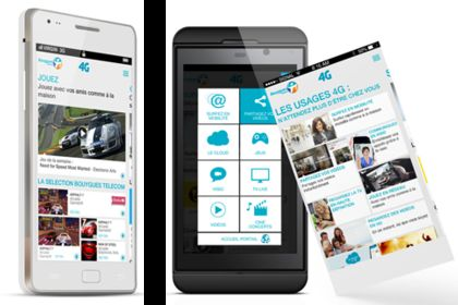 Bouygues Telecom Portail mobile 4G