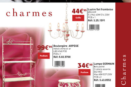 Mathias luminaires, catalogues