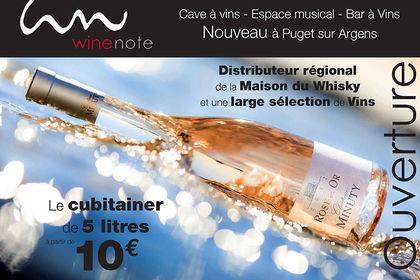 Wine Note , marchand de vins , bar musical