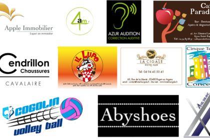 Divers logos originaux et spécifiques