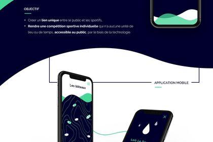 Sea it all - Application mobile & bracel connecté