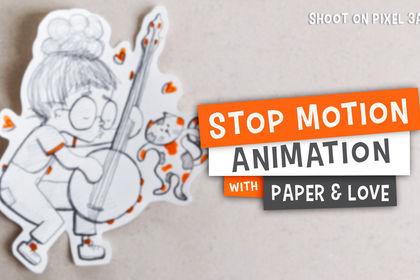 """Film Stop Motion """"Même pas peur !"""""""