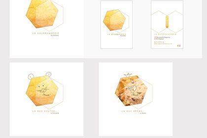 Identité visuelle artisan biscuiterie