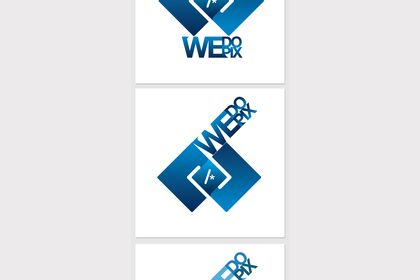 WeDoPix : logotype + signe