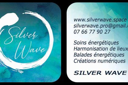 Cartes de visite - Silver Wave