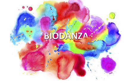 Bannière internet pour un site de Biodanza