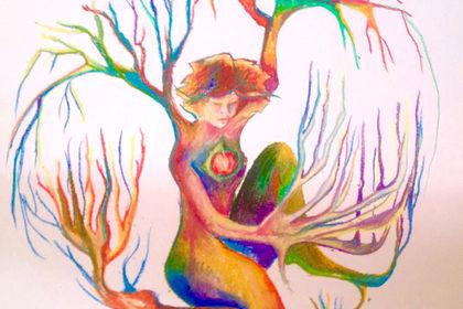 Illustration colorée et créative