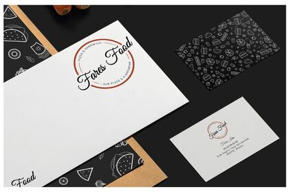 Fares Food : Business Card