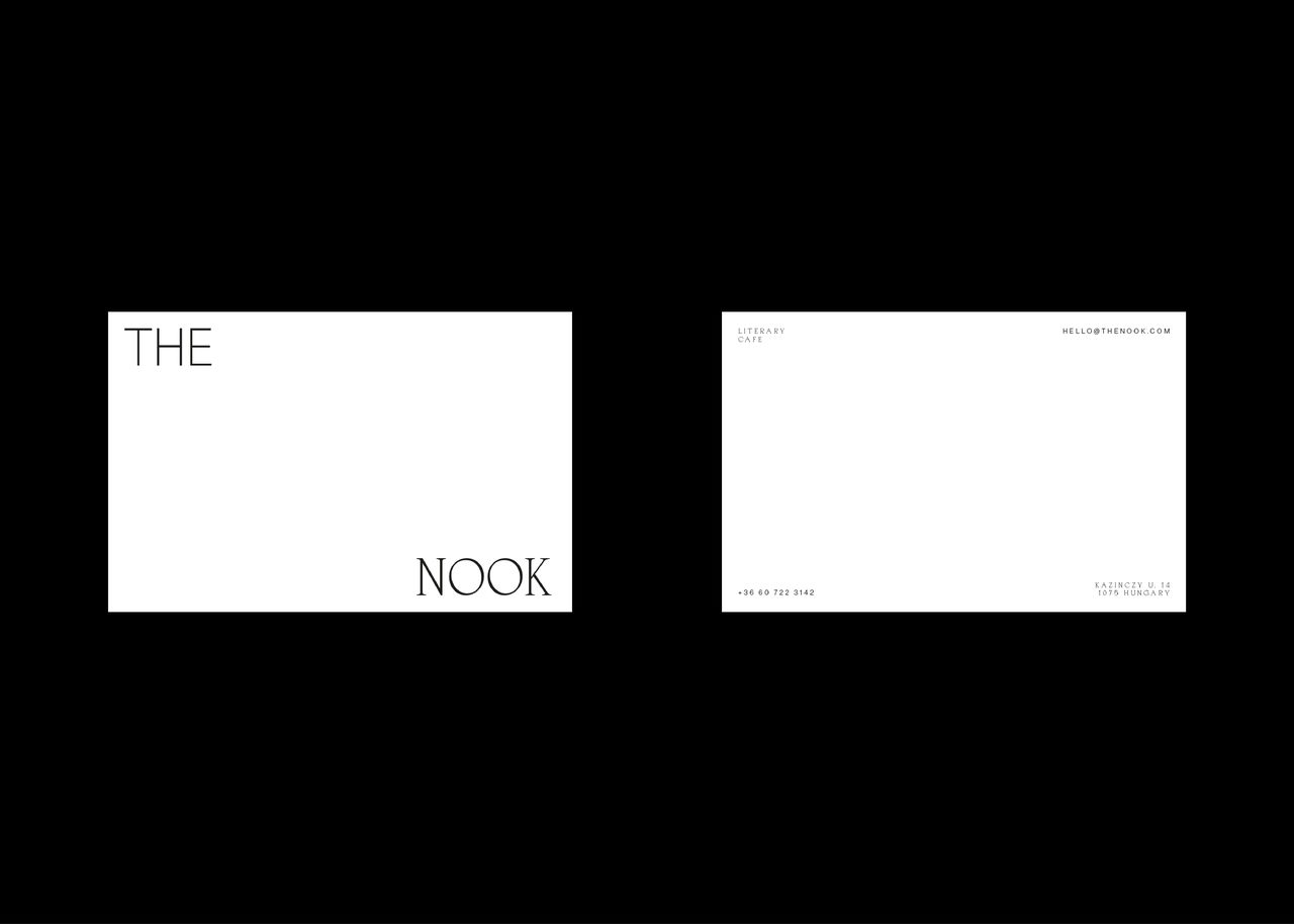 The Nook - Identité visuelle