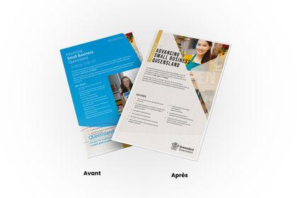 Brochure Gouvernement du Queensland Australie