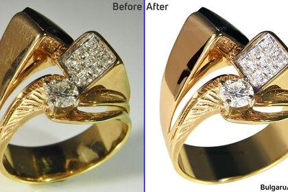 Retouche bijoux pour vente