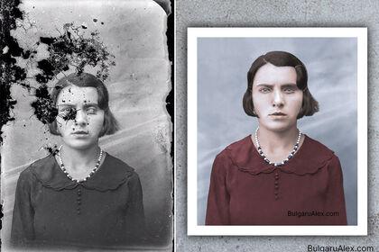 Reconstruction anatomique du sujet photographique