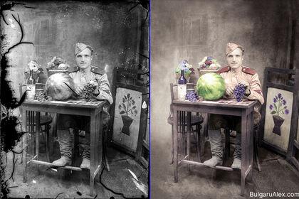 Colorisation et retouche photographique