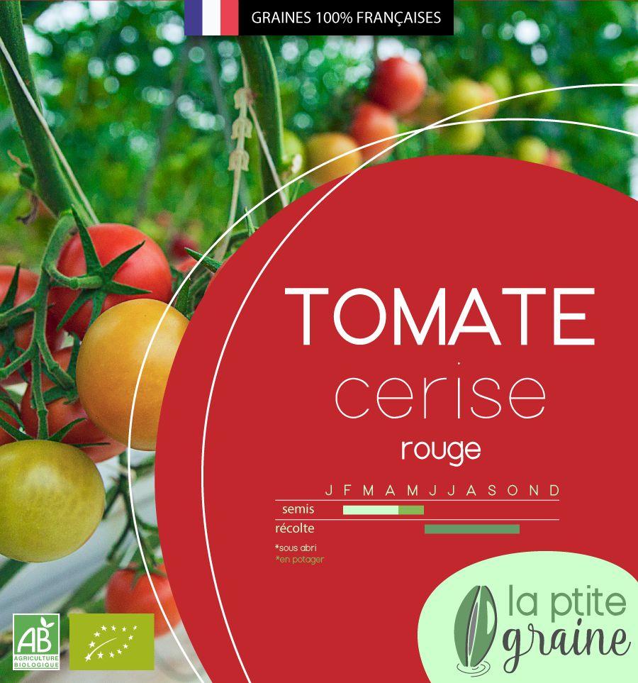 Packaging graines de tomates - La Ptite Graine