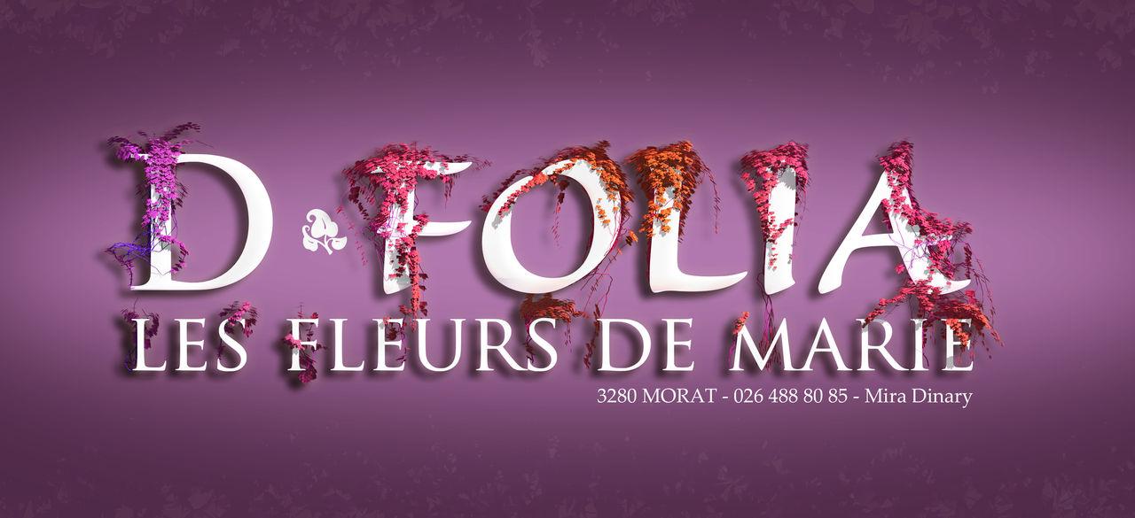 D Folia - Les fleurs de Marie
