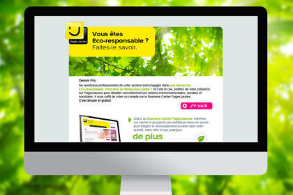 Pagesjaunes -  Campagnes Emailing