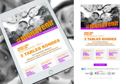 Conférence Mon avenir - Pack invitations emailing