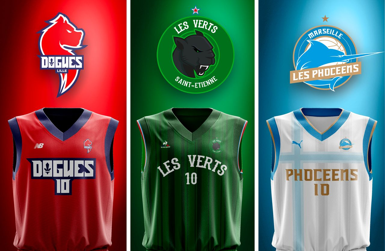 Proposition logo NBA x PSG