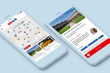 Nohô App iOS et Android pour une start-up