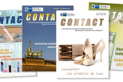 Création du magazine CONTACT