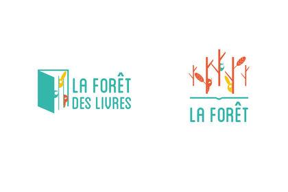 Logo la forêt des livres